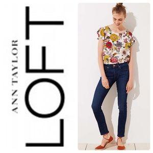 EUC Ann Taylor Loft Modern Slim Jeans Size 10